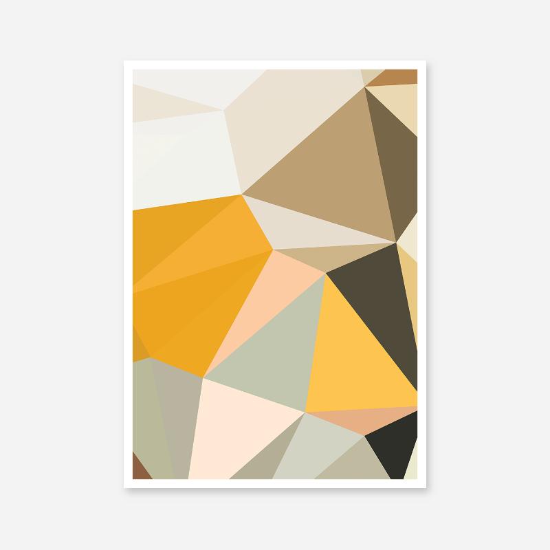 Polygon Free Downloadable Printable Wall Art