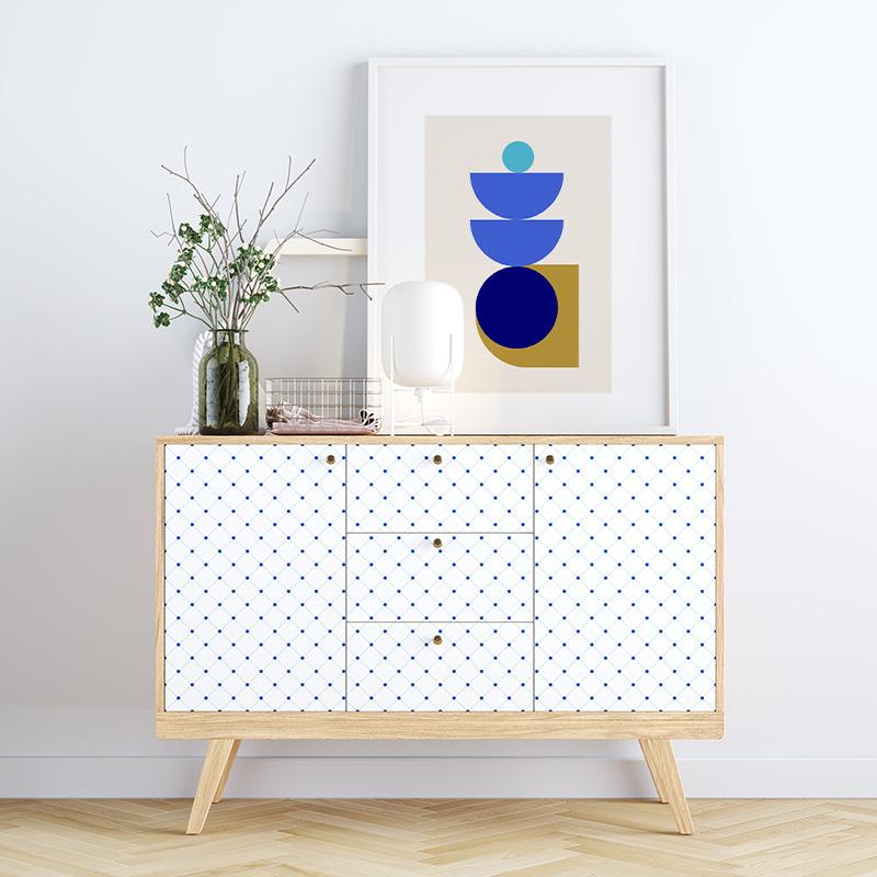 Flashy blue gold khaki half moon style abstract minimalist printable wall art design to print at home, free digital print
